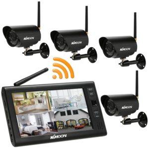 Überwachungskamera Set - KKmoon 2.4 GHz Wireless 4CH-Kit