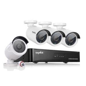 Überwachungskamera Set – SANNCE Überwachungsset-POE-4CH-960P