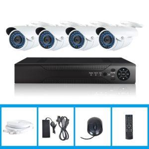Überwachungskamera Set – JOOAN Überwachungsset-POE-4CH