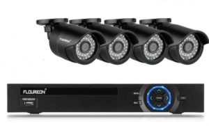 Überwachungskamera Set – FLOUREON CCTV-Videoüberwachungsset